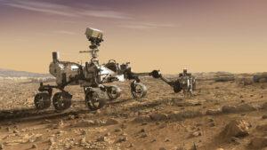 Perseverance se chystá odvrtat vzorek na simulaci NASA