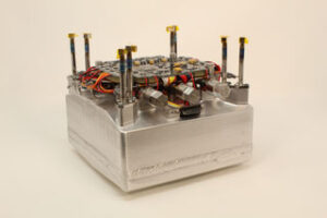 Pohonný systém CubeSatu CAPSTONE.