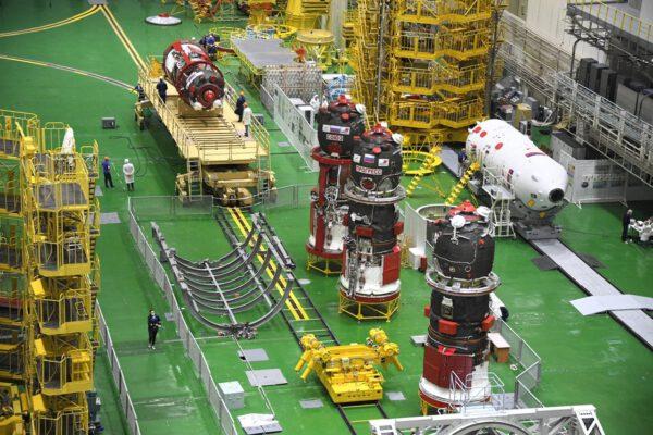 Lodě Sojuz a Progress