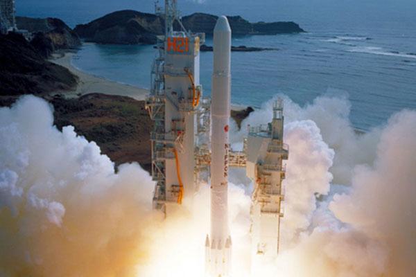 Start japonská rakety H-I