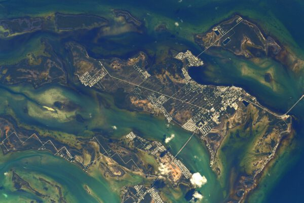 Detail ostrova Big Pine Key (doslova tedy Velká borovice). Zdroj: flickr.com