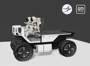 V reakci na výzvu zveřejnily společnosti General Motors a Lockheed Martin společný návrh lunárního vozidla
