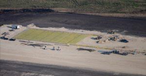 Stavba základů nové výrobní haly na Raptory