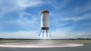 Druhý stupeň Falconu 9 přistává zpět na Zemi: nepoužívá přitom hlavní motor, ale motory pomocné (copak nám to připomíná?)
