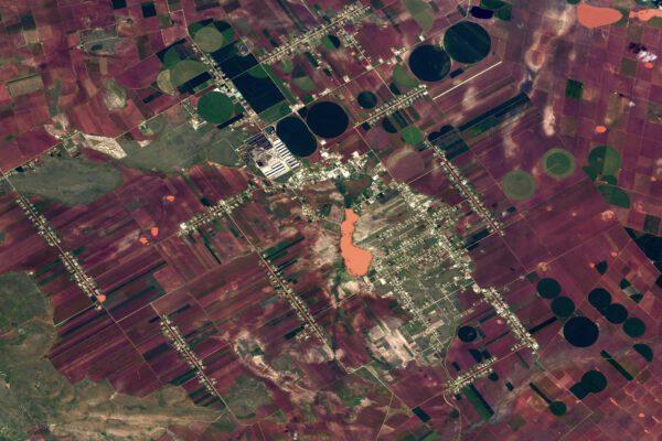 Pole v Mexiku dávají vzpomenout na ta pouštní z Arabského poloostrova, ale zde jsou obklopena ne pouští, ale dalšími políčky. Zdroj: flickr.com
