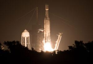 25. června 2019 odstartvoal Falcon Heavy, který kromě jiného vynesl technologický demonstrátor Deep Space Atomic Clock.