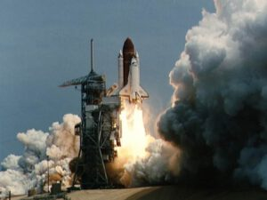 Challenger startuje k misi STS-51-B