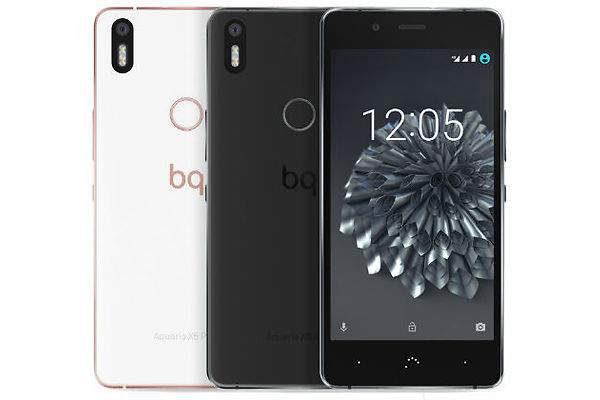 Aquaris X5 Plus od španělské firmy BQ - první a zatím jediný mobilní telefon schopný přijímat signál systému Galileo