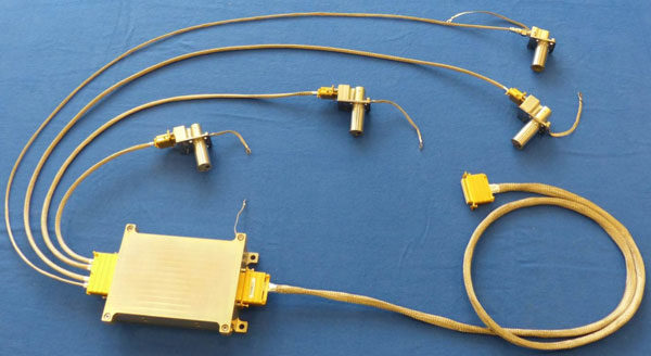 Senzory COMARS+ a řídící elektronika