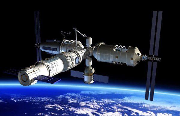 Možná podoba čínské modulární stanice
