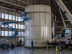 Hmotnostní simulátor Orionu v Langleyho výzkumném středisku